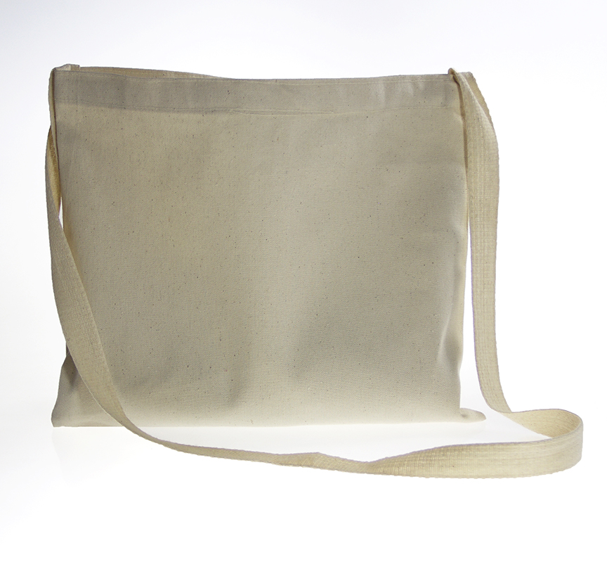 Canvas Sling Bag Flat - Gouda Inc.