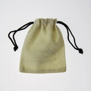 cotton draw string pouch