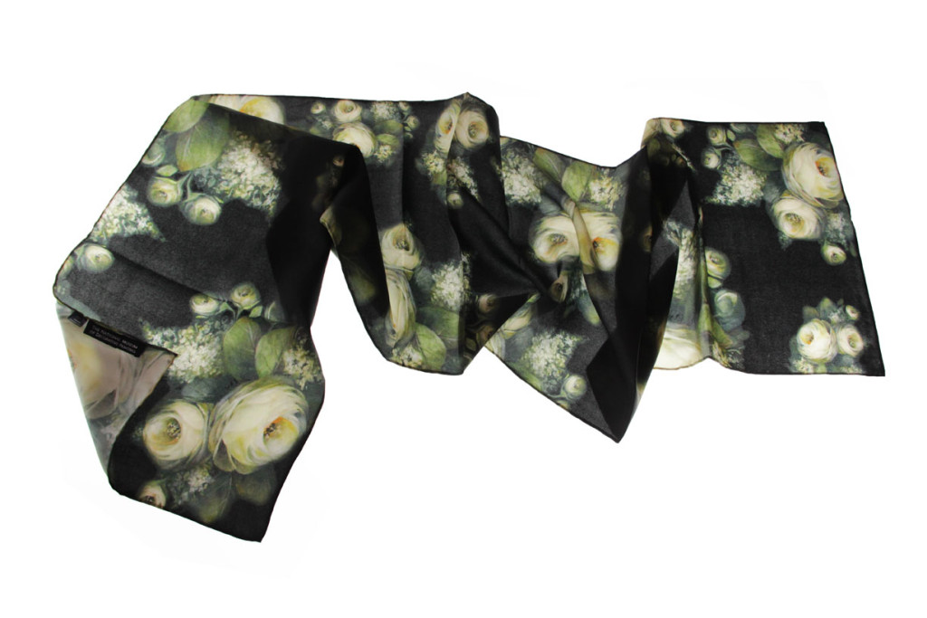Digitally printed scarves
