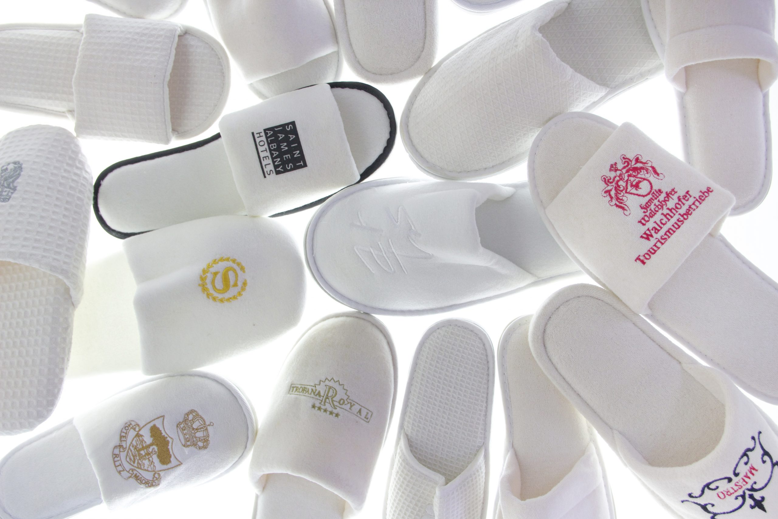 Custom Hotel Slippers