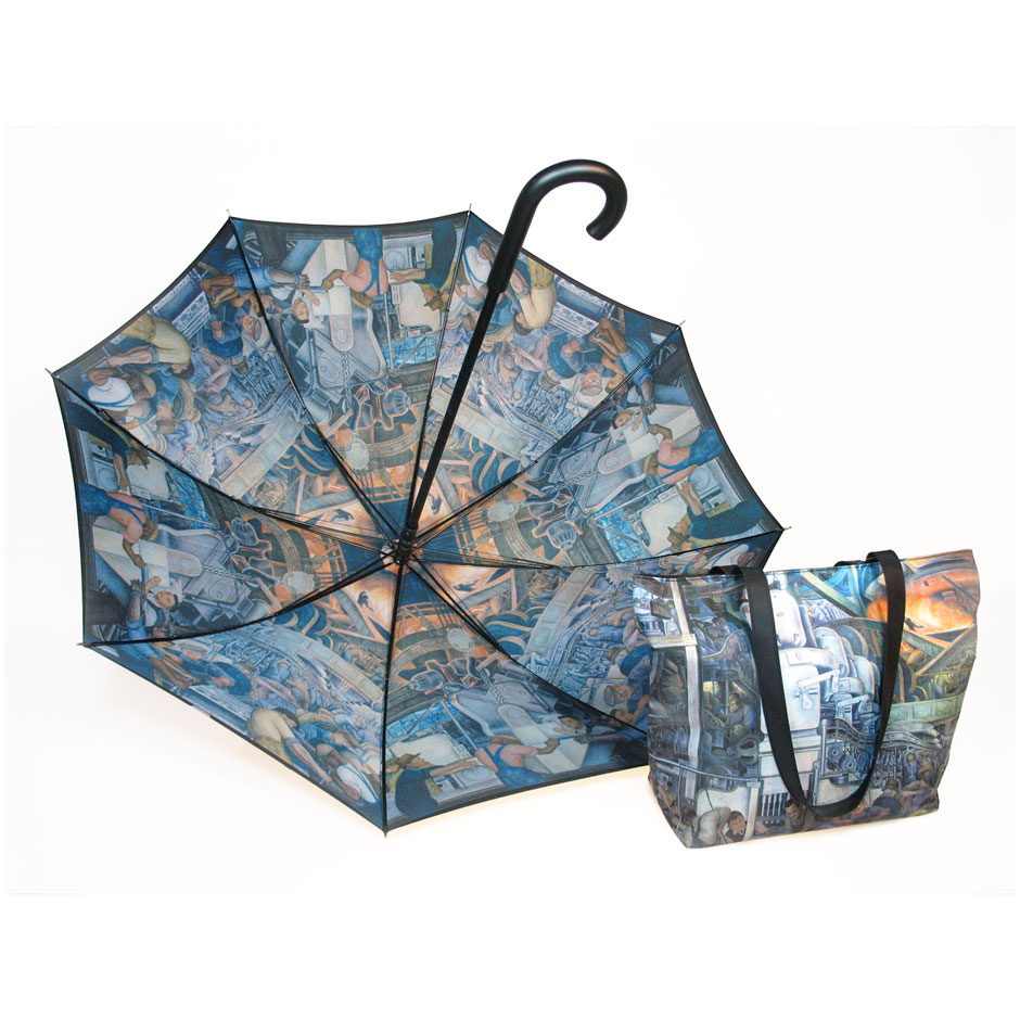 iInterior Print Umbrella and Bag Sets