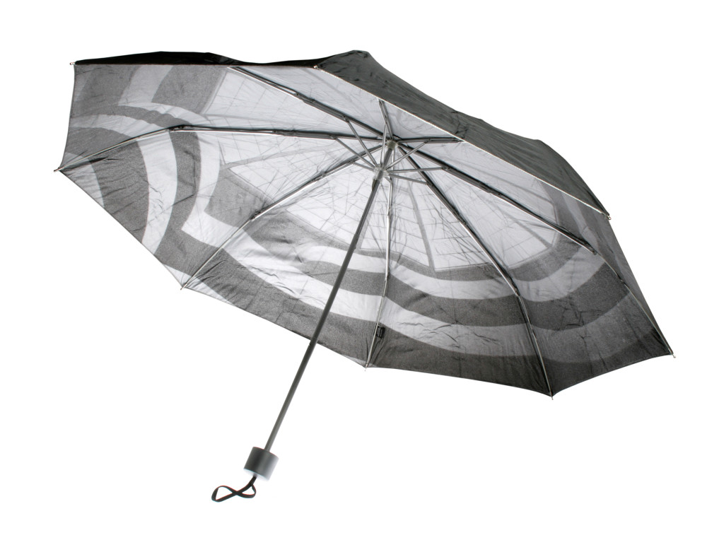 Interior Print Metallic Umbrellas