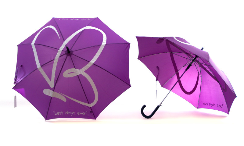 Large Logo Umbrellas