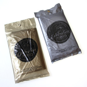 custom ponchos packaging