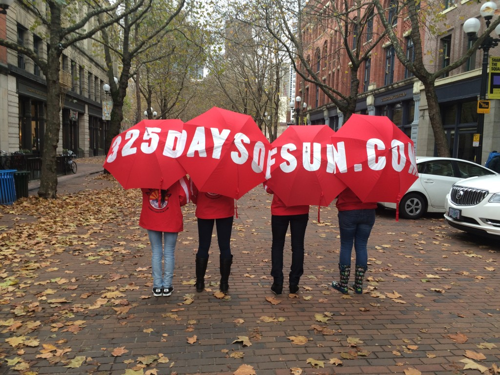 325 Days of Sun Umbrellas