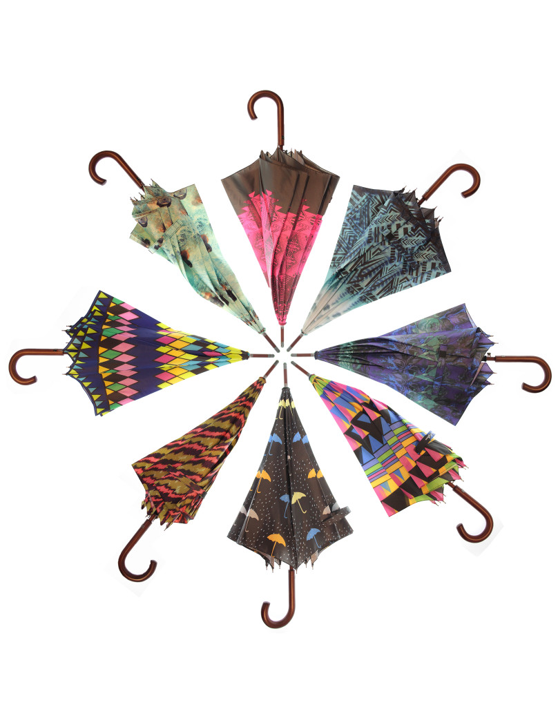Allover Print Designer Umbrellas