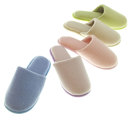custom cashmere slippers