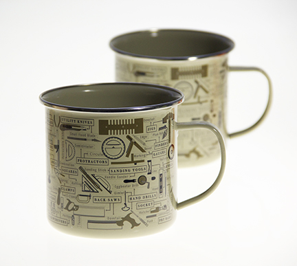 Custom Tin Mugs