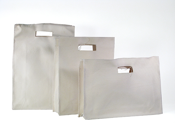 raw canvas bags