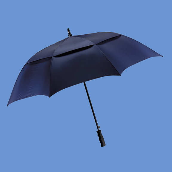 logo print doorman umbrellas