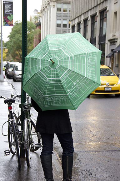 allover print umbrella