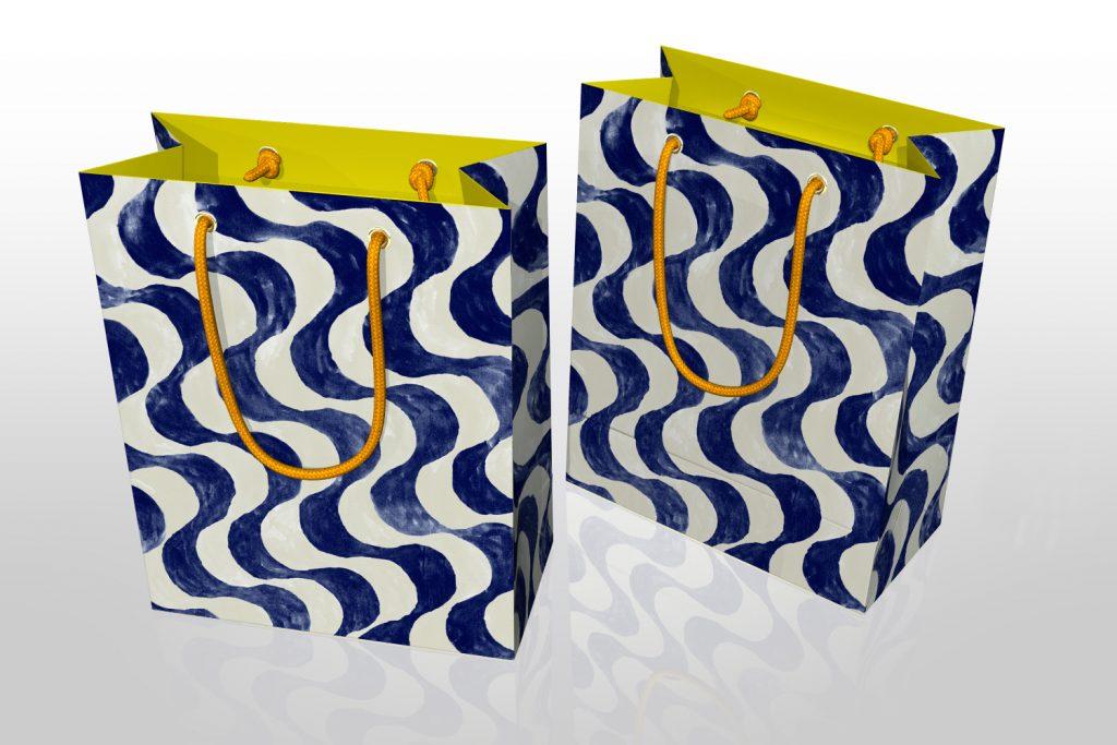 paper shopping bag design