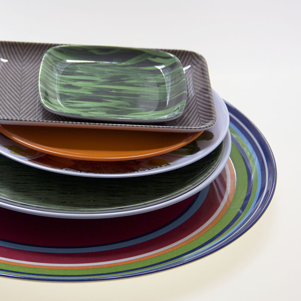 Call us to get a quote on custom melamine today 212-477-9373. custom melamine plates & Custom Melamine - Gouda Inc.
