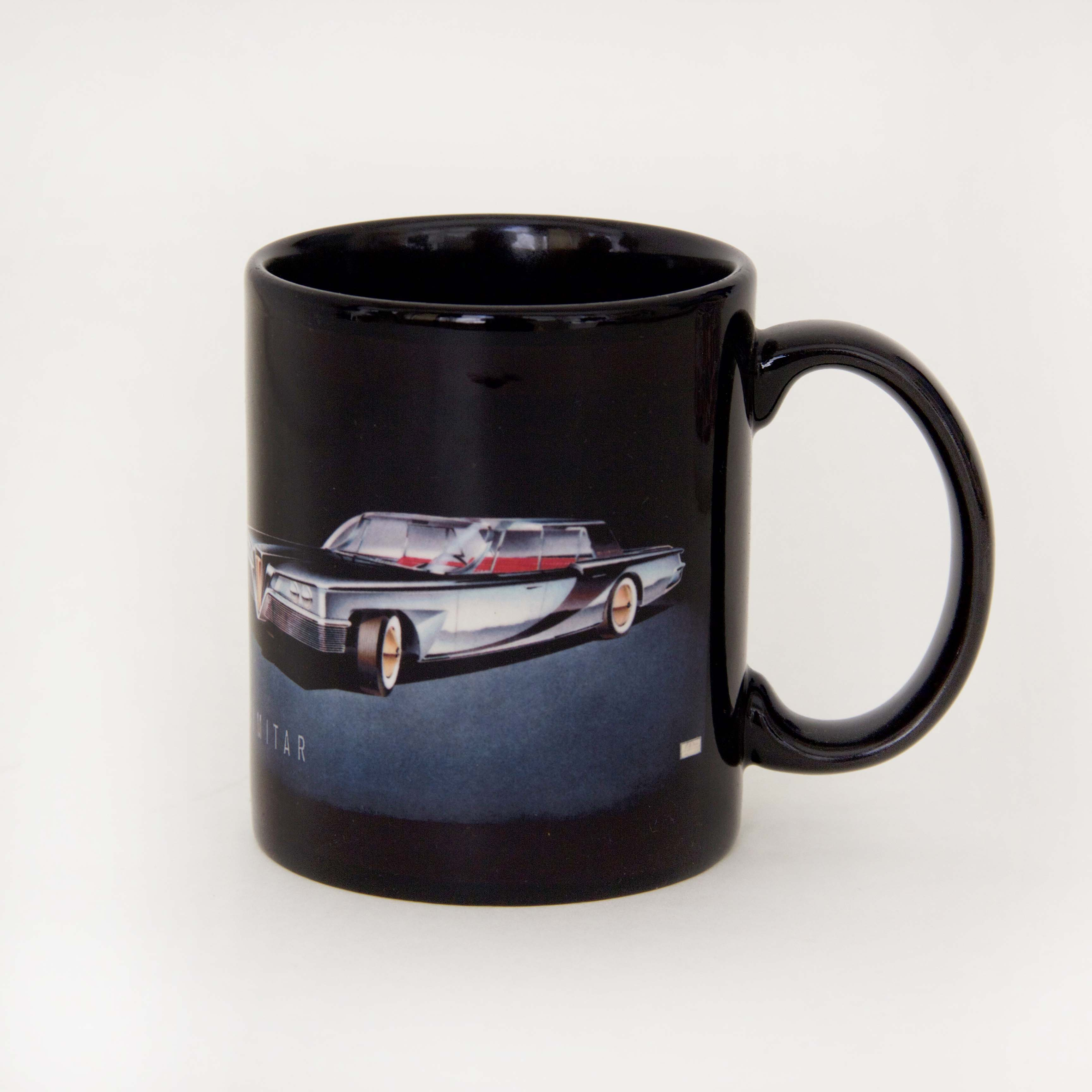 Black mugs with full color printing