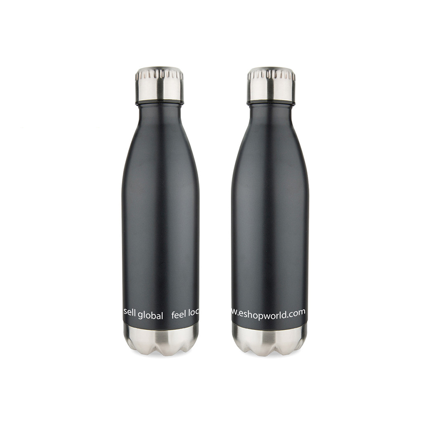 stainless thermal water bottle