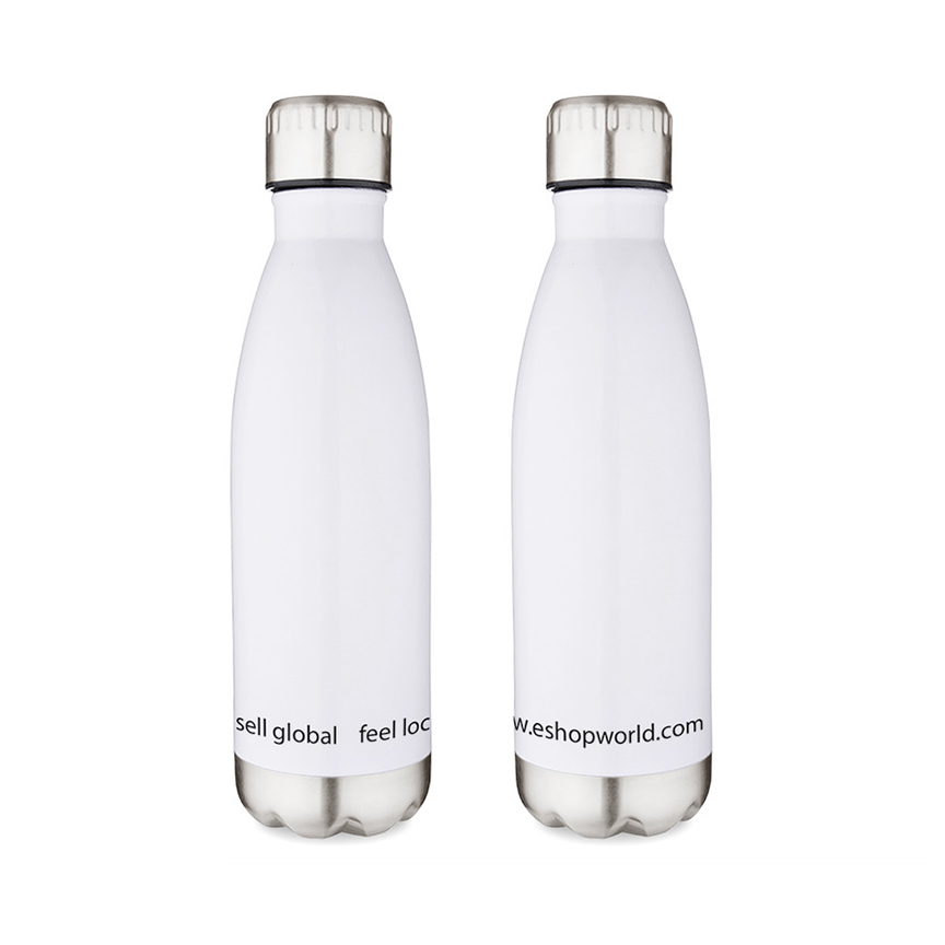 stainless water bottle with stainless bottom