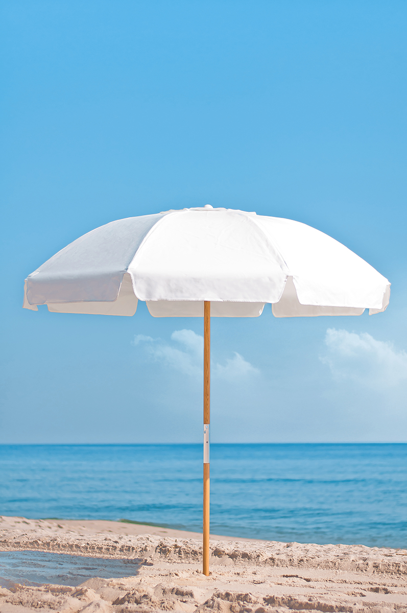 Beach Umbrellas for Commercial Use and Rental. Made to order.