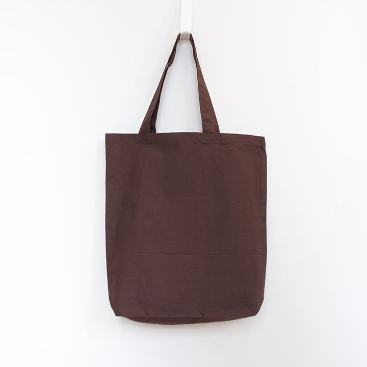 6oz Cotton Tote with Gusset - Brown