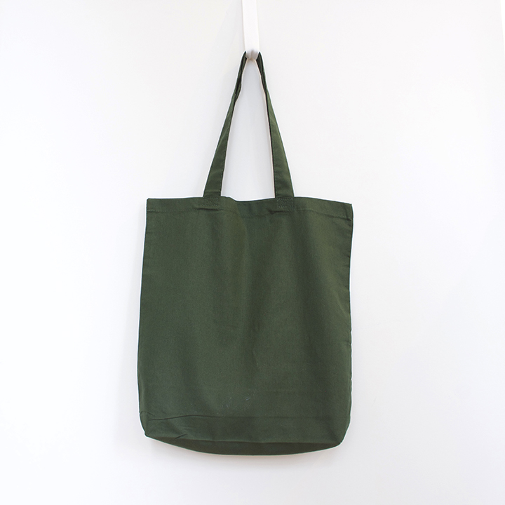 6oz Cotton Tote with Gusset - Forest
