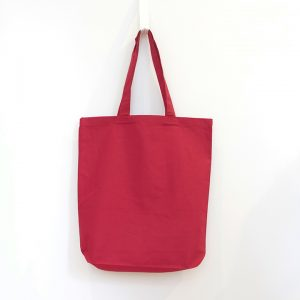 6 oz Gusset Tote Red Image