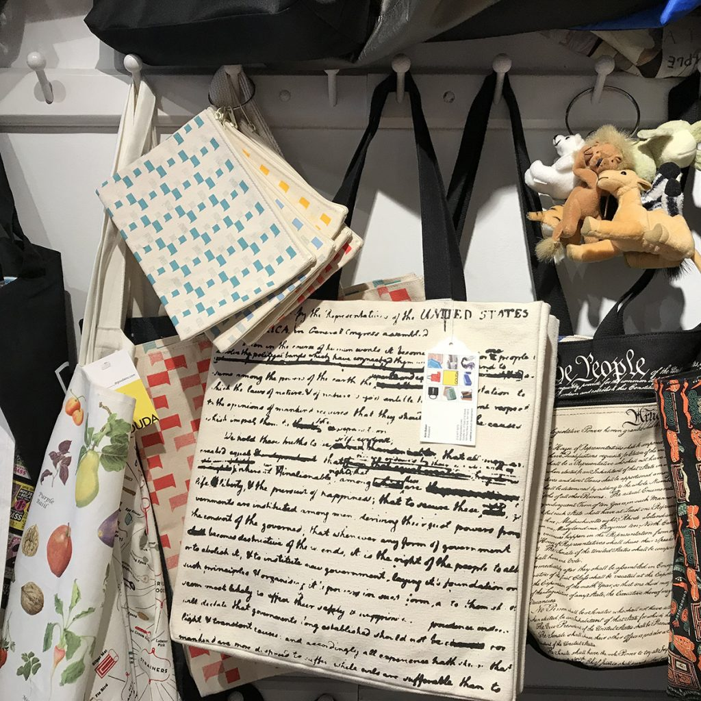 All over print bags at Gouda