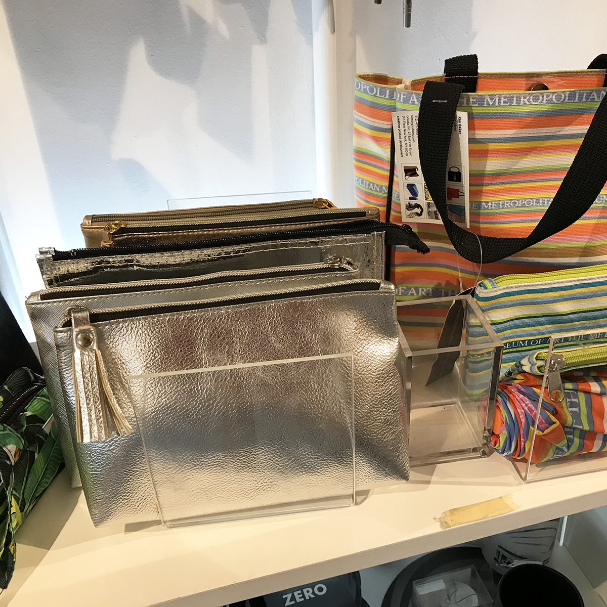 Custom cosmetic bags in the Gouda showroom