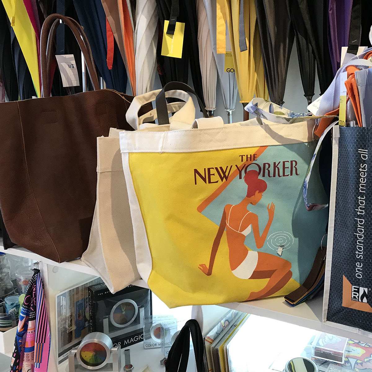 Gouda showroom totes