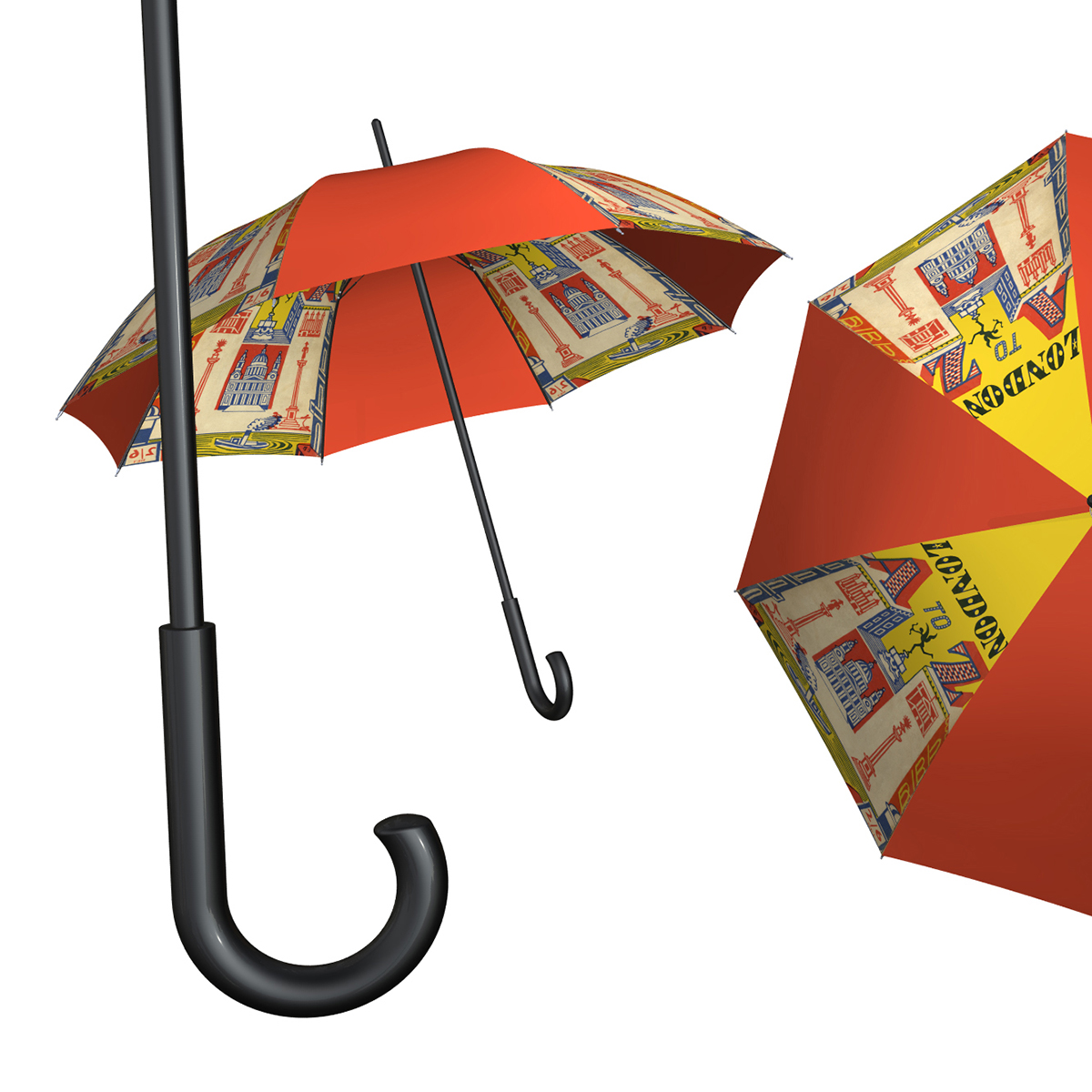 Custom Printed Museum l Umbrella