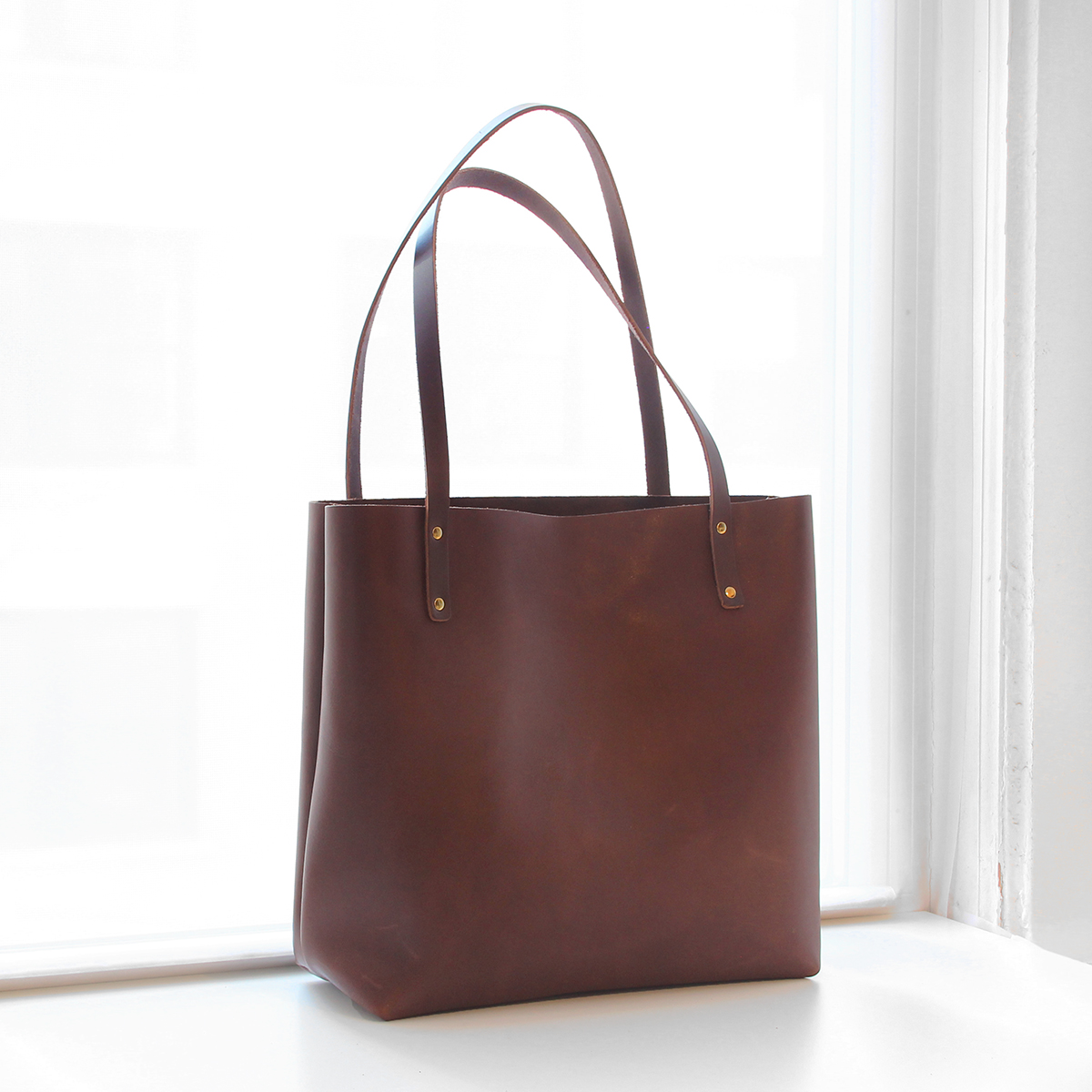Custom Leather Tote Bags