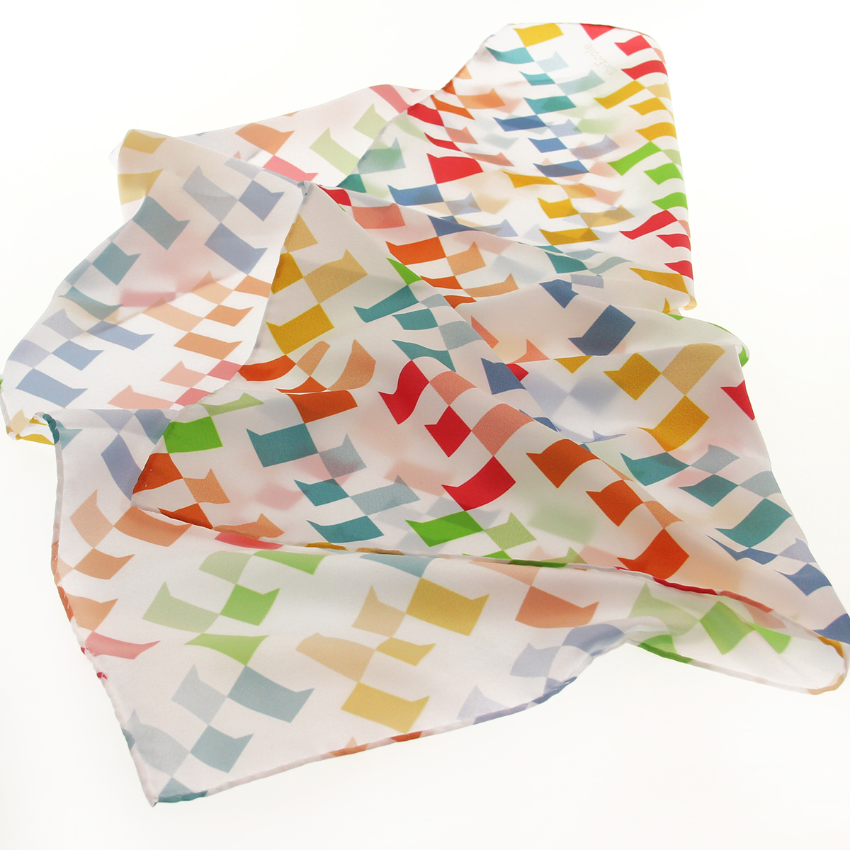 polyester scarves printed in full color
