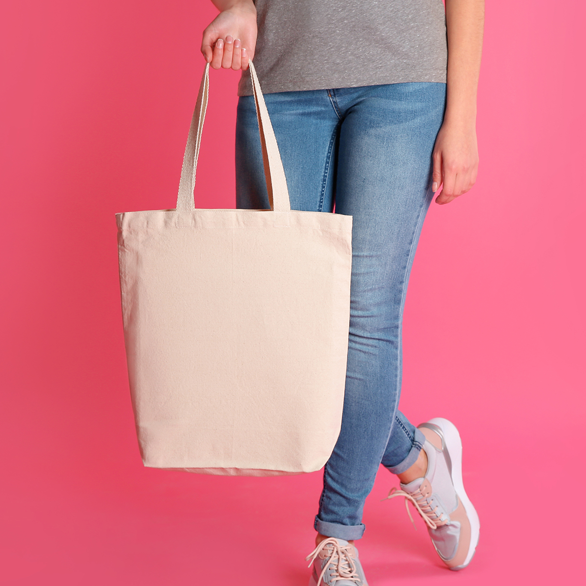 Gusset Tote 6 oz Canvas