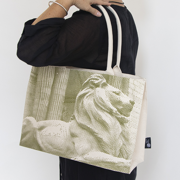 All Over Print Lion Tote