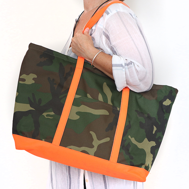 Custom Boat Bag - All Over Camouflage