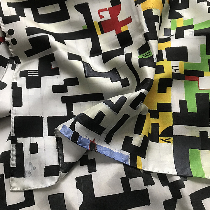 Digitally Printed Scarves printed in full color