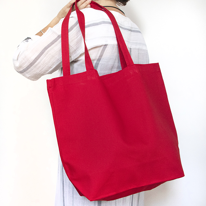 Favorite Tote- Red