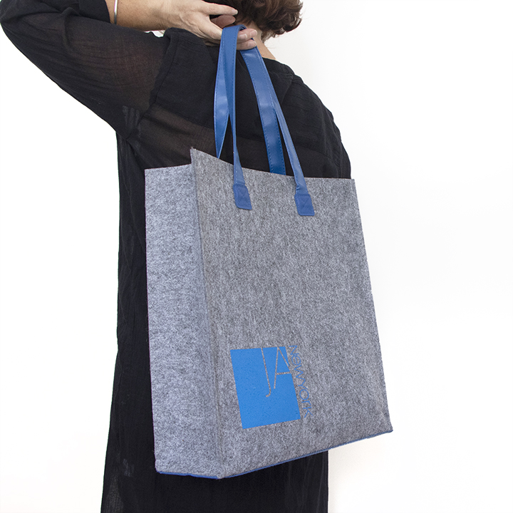 Custom Manufactured Felt Tote