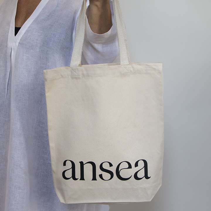 The Perfect Tote - Natural Canvas with Silkscreen