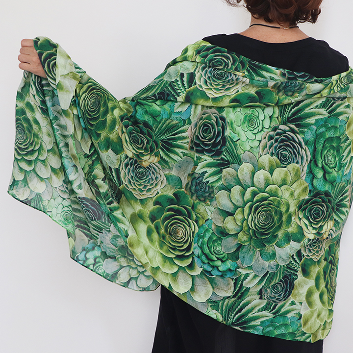 Custom Printed Shawls made to order