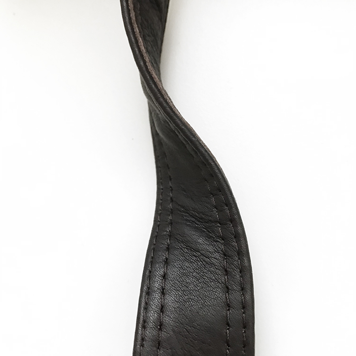 2 sided leather handle finishes