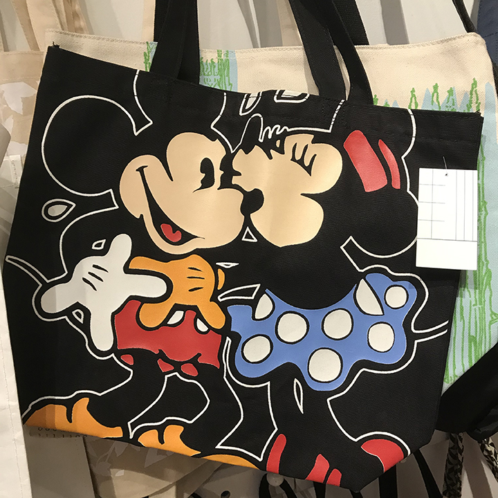 mickey mouse custom tote bags